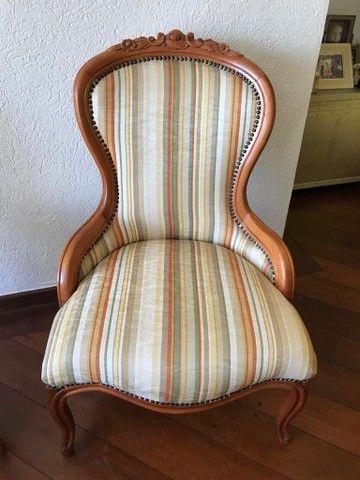 Cadeira Luís XV Vitoriana  - Foto 2