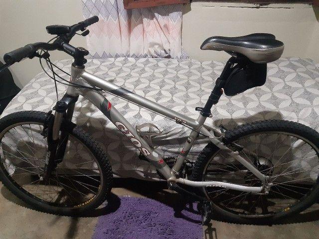 Bicicleta gios xc3 aro 26 quadro 16 toda Shimano