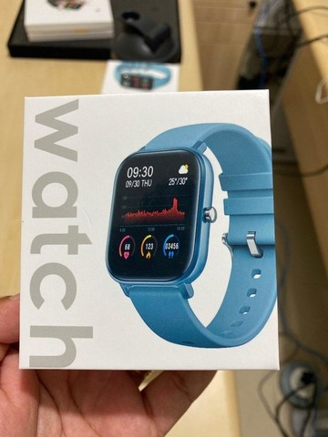 Smartwatch Colmi P8 - novo lacrado, original - Foto 4