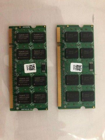 Memória Notebook 4gb DDR2 - Foto 2