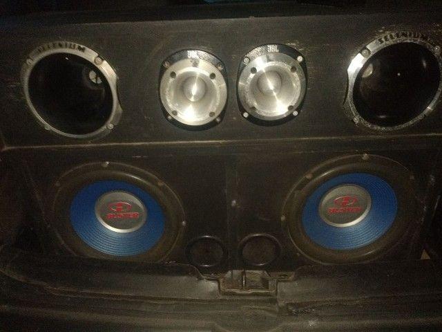 Vende-se caixa de som com 2 forças ctt * - Foto 3