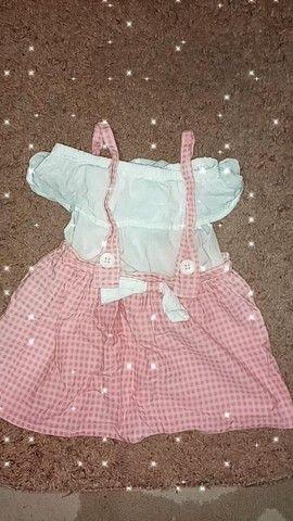 Lote de roupa de meninas - Foto 5