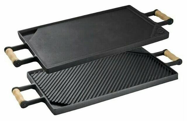 Chapa de carnes/hambúrgueres Para Usar no Fogão e Churrasqueira