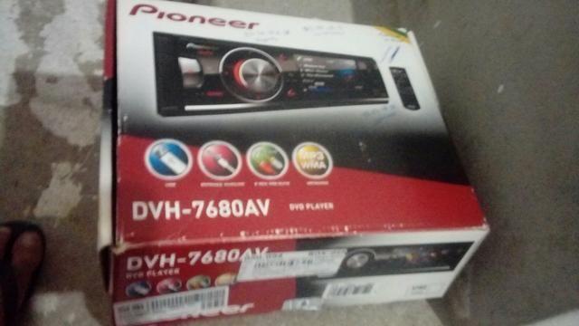 Dvd.pioneer novo na Caixa