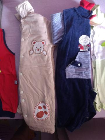 Combo de roupas de bebê menino