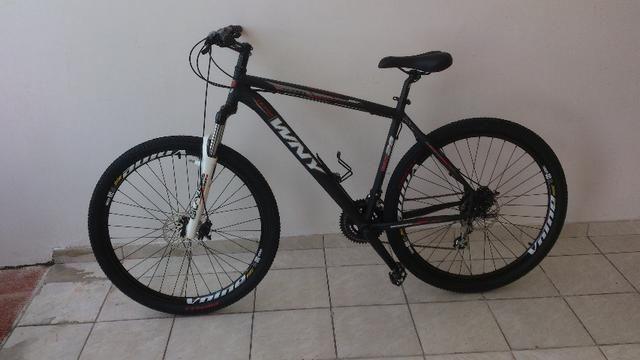 Bicicleta aro 29 WNY - Freios à disco - 24 Marchas - Nova
