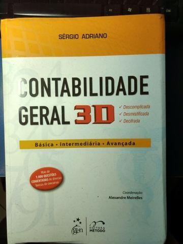 Livro Contabilidade Geral 3d _Sergio Adriano (seminovo)