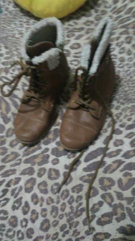 Sapatos de inverno