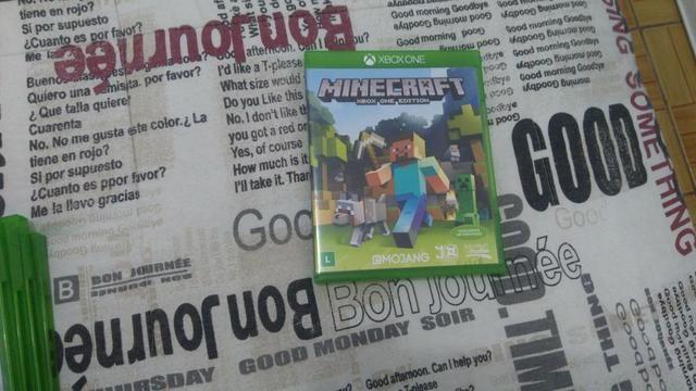 Vendo jogo Minecraft