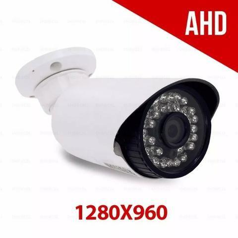 Câmera Segurança Hd Ahd M 1280x960 Infravermelho 50m 1.3