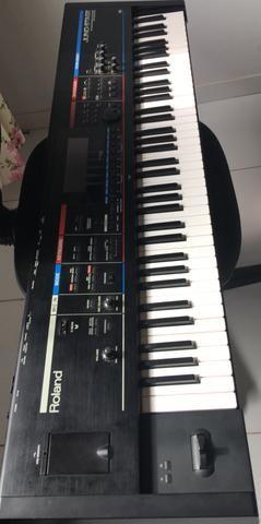 Teclado sintetizador roland juno stage 76 teclas