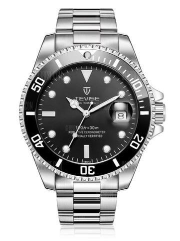 Tevise t801a Relógio Mecânico para Homem