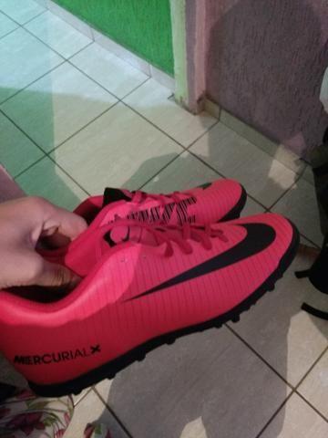 Chuteira Nike mercurial 2018