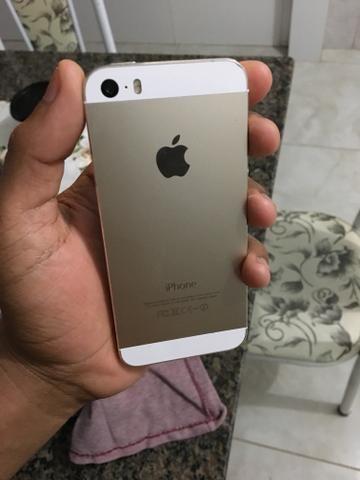 IPhone 5s 64gb (GOLD) DOURADO IMPECÁVEL PRA VENDER LOGO
