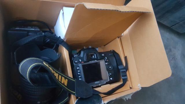 Câmera d7000 3.000 nikon