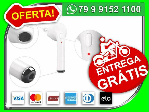 Fone Ouvido Hbq I7 Bluetooth 4.1 Edr Sem Fio Iphone - airpod - Novo - Entrega Grátis