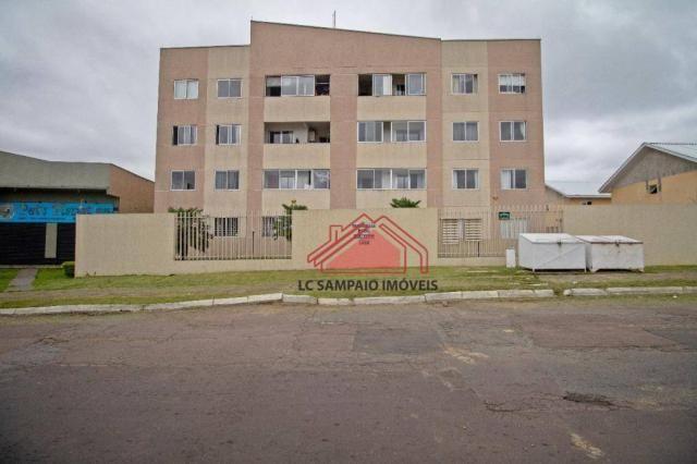 Apartamento com 3 dormitórios à venda, 69 m² por r$ 270.000,00 - santa quitéria - curitiba