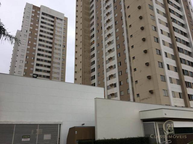 Apartamento com 3 dormitórios à venda, 69 m² por r$ 315.000 - gleba palhano - londrina/pr