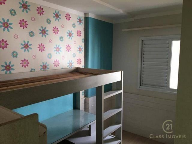 Apartamento com 3 dormitórios à venda, 83 m² por r$ 398.000,00 - gleba palhano - londrina/ - Foto 14
