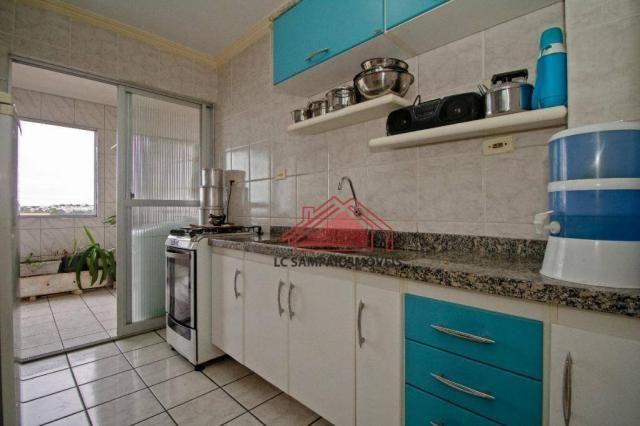 Apartamento com 3 dormitórios à venda, 69 m² por r$ 270.000,00 - santa quitéria - curitiba - Foto 11