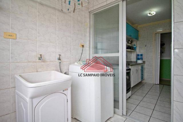 Apartamento com 3 dormitórios à venda, 69 m² por r$ 270.000,00 - santa quitéria - curitiba - Foto 17