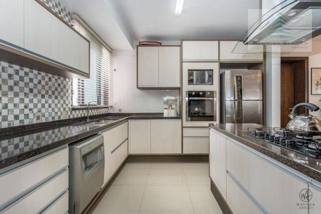 Apartamento com 3 dormitórios à venda, 129 m² por r$ 800.000 - batel - curitiba/pr - Foto 3
