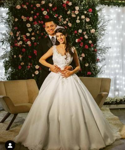 Vestidos de noivas e damas - Foto 2
