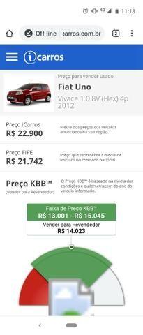 Fiat Uno Vivace1.0 ?2012? - Foto 6