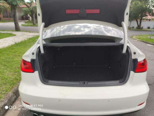"Audi A3 Sedan 2015 1.8 Ambition 1.8 TFSI 180cv Teto solar ""raridade"" - Foto 17"