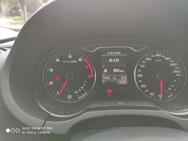 "Audi A3 Sedan 2015 1.8 Ambition 1.8 TFSI 180cv Teto solar ""raridade"" - Foto 20"