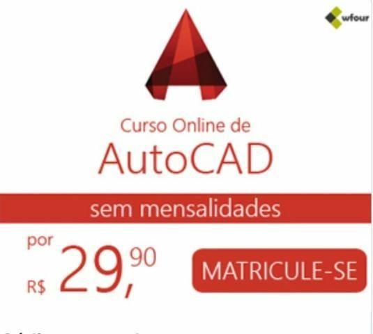 Curso Auto Cad Online com certificado