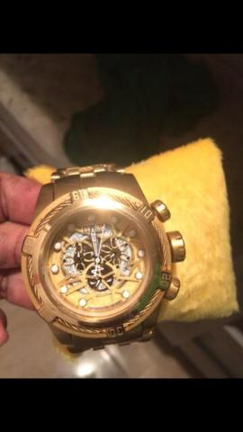 c0c4a12964f Invicta Zeus Gold - Bijouterias