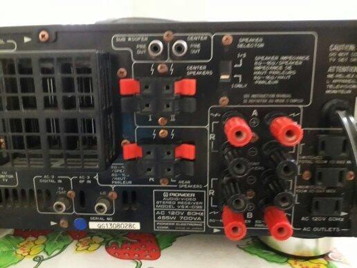Vendo receiver Pioneer em perfeito estado focionando perfeitamente sem detalhe