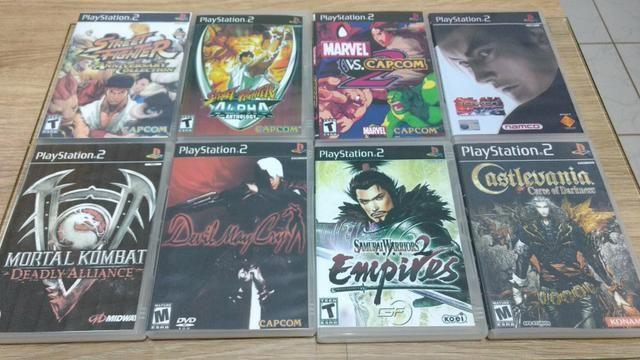 18 jogos para PS2