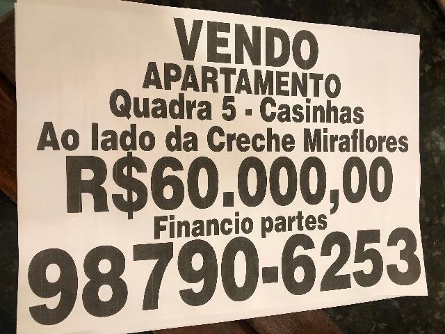 Vendo excelente apartamento no Rio das Pedras