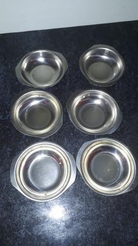 Conjunto de sobremesa de alumínio