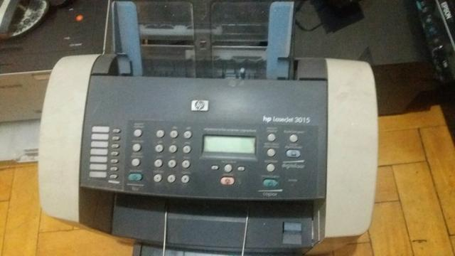 Impressora laser HP 3015 multifuncional