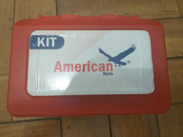 Kit acadêmico American burrs