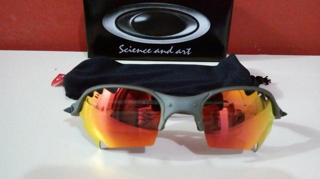 dc3fb32a87a6f Óculos Oakley Romeo 2 Xmetal lente Ruby Parriot Novo Frete grátis ...