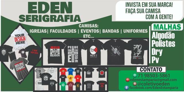 Camisas Personalizadas, Silk Screen | Atendemos Salvador e Região Metropolitana