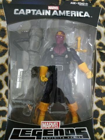 Marvel Legends Captian America Soldiers Of A. I. M. - Hasbro - Barão Zemo