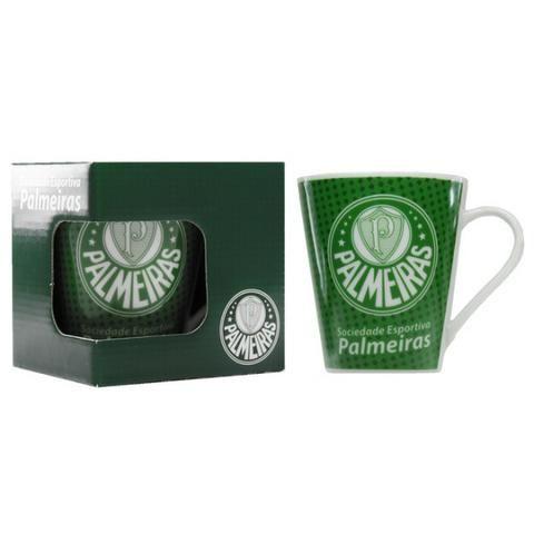 Kit Presente Torcedor Palmeiras SP 4x1 1Toalha 2Canecas 1Copo - Foto 3