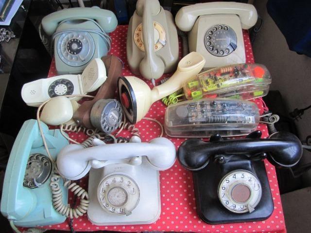"""Telefones Antigos para seu Escritorio anos 50-60-70 """"Raridades"""""""