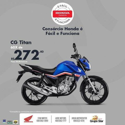 Moto Honda CG 160 Titan