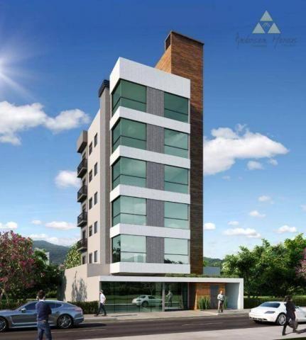 Apartamento à venda, 108 m² por r$ 393.664,00 - itacolomi - balneário piçarras/sc