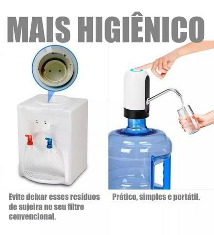 Bomba D'água Galão Inteligente Sem Fio Portátil 5l 10l 20l pronta entrega - Foto 4