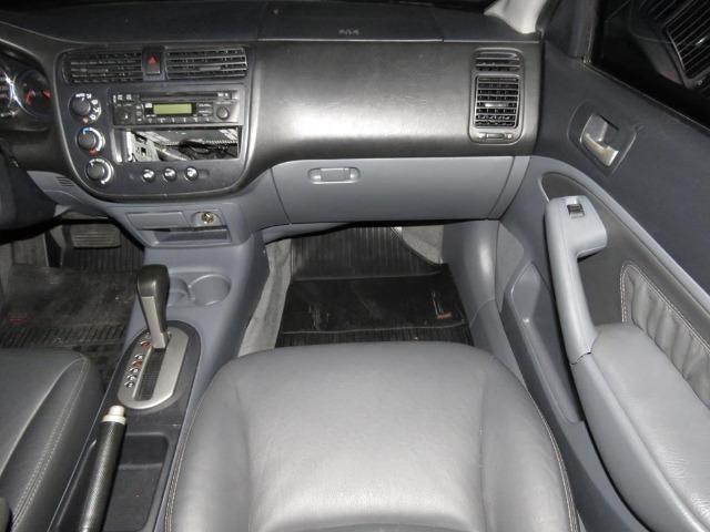 Honda Civic 1.7 EX 16v 4p Automático Blindagem III-A Completo C/ Couro - Foto 12