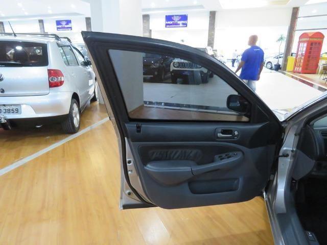 Honda Civic 1.7 EX 16v 4p Automático Blindagem III-A Completo C/ Couro - Foto 16