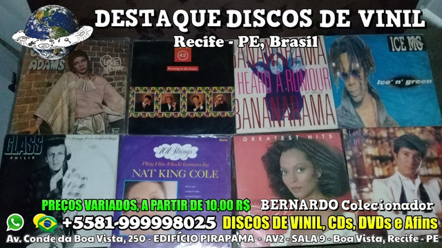 Destaque Discos de Vinil, CDs e DVDs - Boa Vista, Recife PE - Foto 3