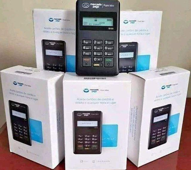 Máquinas de cartão crédito e débito